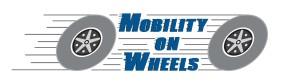 Mobility on Wheels Logo