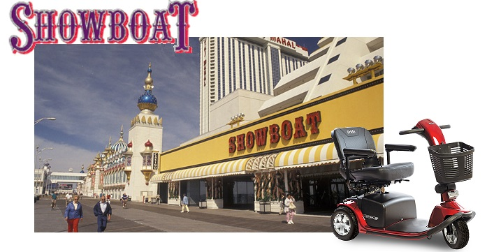Showboat Atlantic City Mobility On Wheels Location